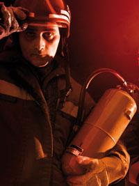 Feuerlöscher  Feuerwehr