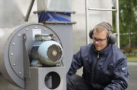 Gehörschutz im Betrieb