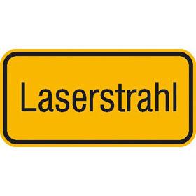 Laserstrahl Sicherheit