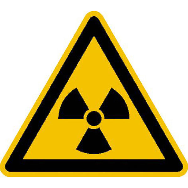 warnschild warnung vor radioaktiven stoffen oder ionisierender strahlung. Black Bedroom Furniture Sets. Home Design Ideas