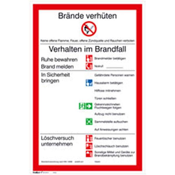 aushang brandschutz brandschutzordnung teil a - Brandschutzordnung Muster