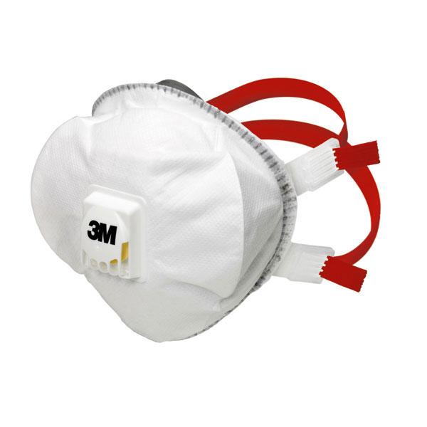 3m atemschutzmaske 8835 ffp3 r d partikelmaske mit ausatemventil. Black Bedroom Furniture Sets. Home Design Ideas