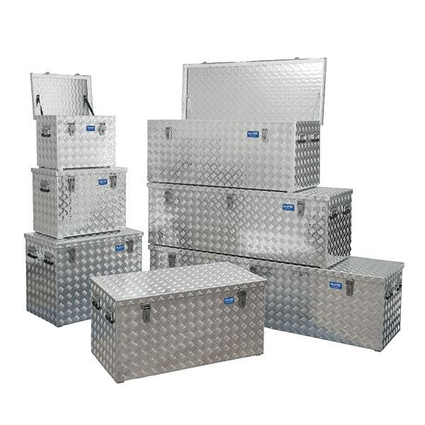 alutec aluminiumbox r serie extra stabile riffelblechbox mit hebelspannverschl ssen. Black Bedroom Furniture Sets. Home Design Ideas