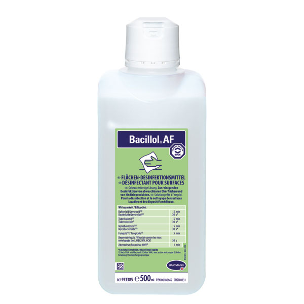 Bacillol Af Flachendesinfektion Aldehyd Und Parfumfrei