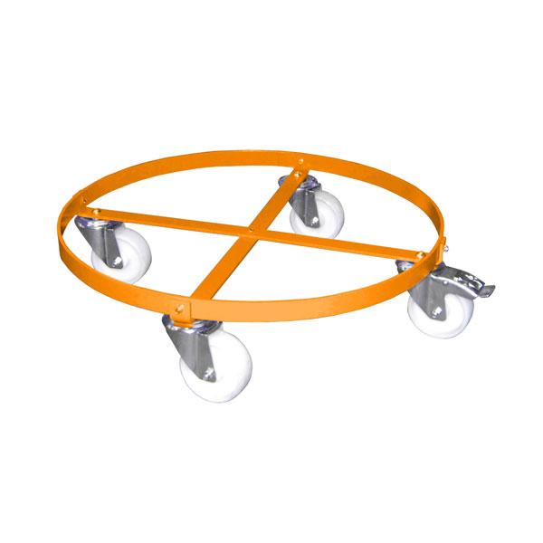 bauer s dlohn fass rollwagen frw i orange zum transport von f ssern bis 60 0 cm durchm. Black Bedroom Furniture Sets. Home Design Ideas