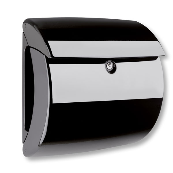 burg w chter briefkasten piano 886 kunststoff schwarz in klavierlack optik. Black Bedroom Furniture Sets. Home Design Ideas
