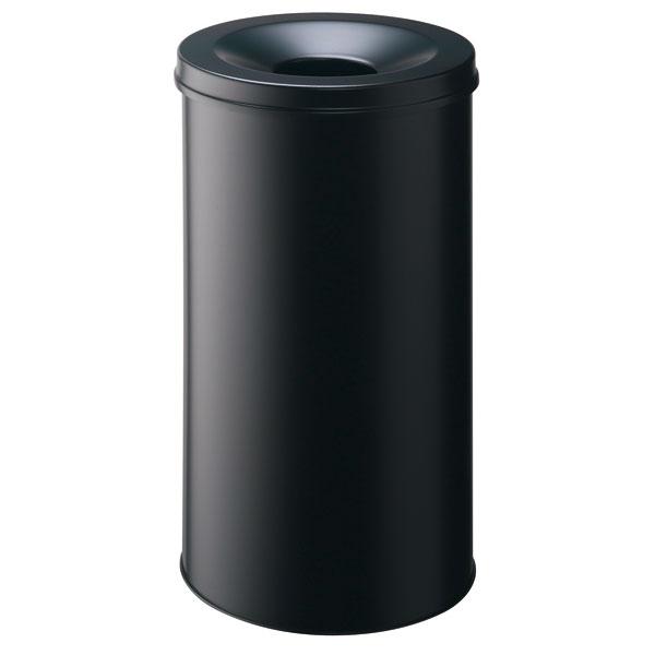 durable papierkorb safe mit flammenl schkopf rund. Black Bedroom Furniture Sets. Home Design Ideas