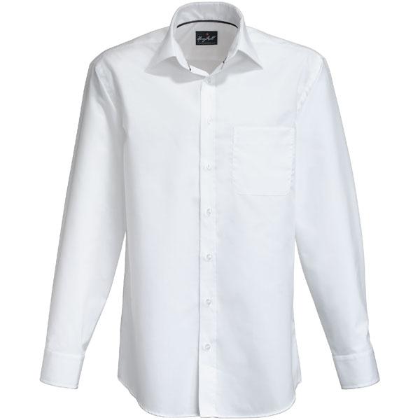 san francisco fc7ea 66bd3 Hakro Herren Businesshemd Langarm bügelfrei, klassisch geschnitten,  formstabil und strapazierfähig