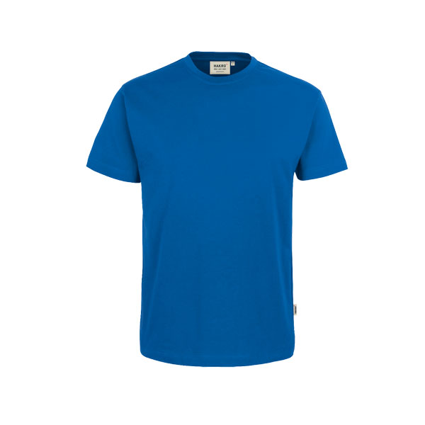 berufsbekleidung t shirts hakro t shirt 39 heavy 39 royalblau bei suk. Black Bedroom Furniture Sets. Home Design Ideas