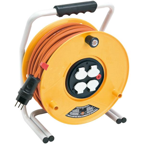 brennenstuhl kabeltrommel brobusta industrie baustellentrommel 40 m kabel. Black Bedroom Furniture Sets. Home Design Ideas