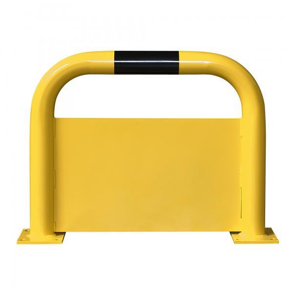 rammschutzb gel gelb schwarz mit unterfahrschutz stahlplatte 4 0 mm h he 40 0 cm zum aufd beln. Black Bedroom Furniture Sets. Home Design Ideas