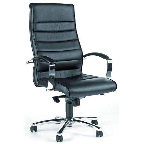b rost hle topstar office 1005 chefsessel hohe r ckenlehne echtes leder bei suk. Black Bedroom Furniture Sets. Home Design Ideas