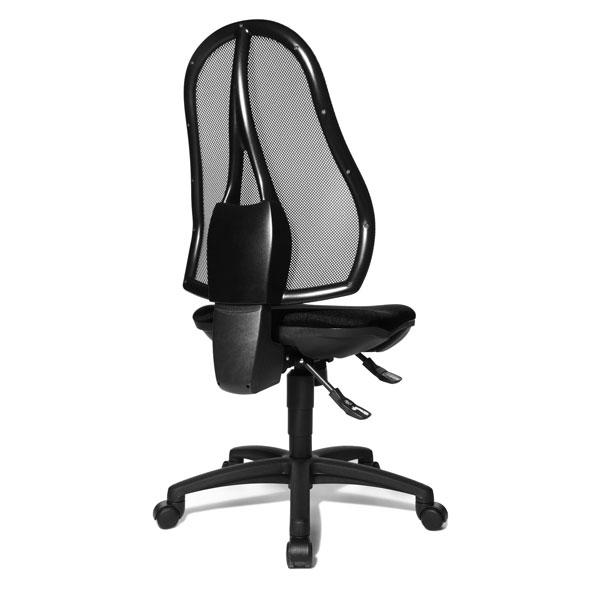 topstar b rostuhl open point sy mit stufenloser sitzh henverstellung durch sicherheits toplift. Black Bedroom Furniture Sets. Home Design Ideas