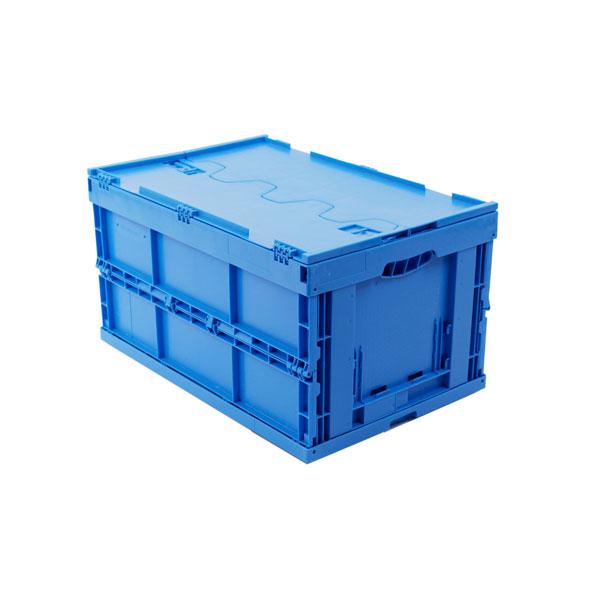 transportboxen walther faltsysteme faltbox aus hochwertigem pp mit deckel farbe blau bei suk. Black Bedroom Furniture Sets. Home Design Ideas